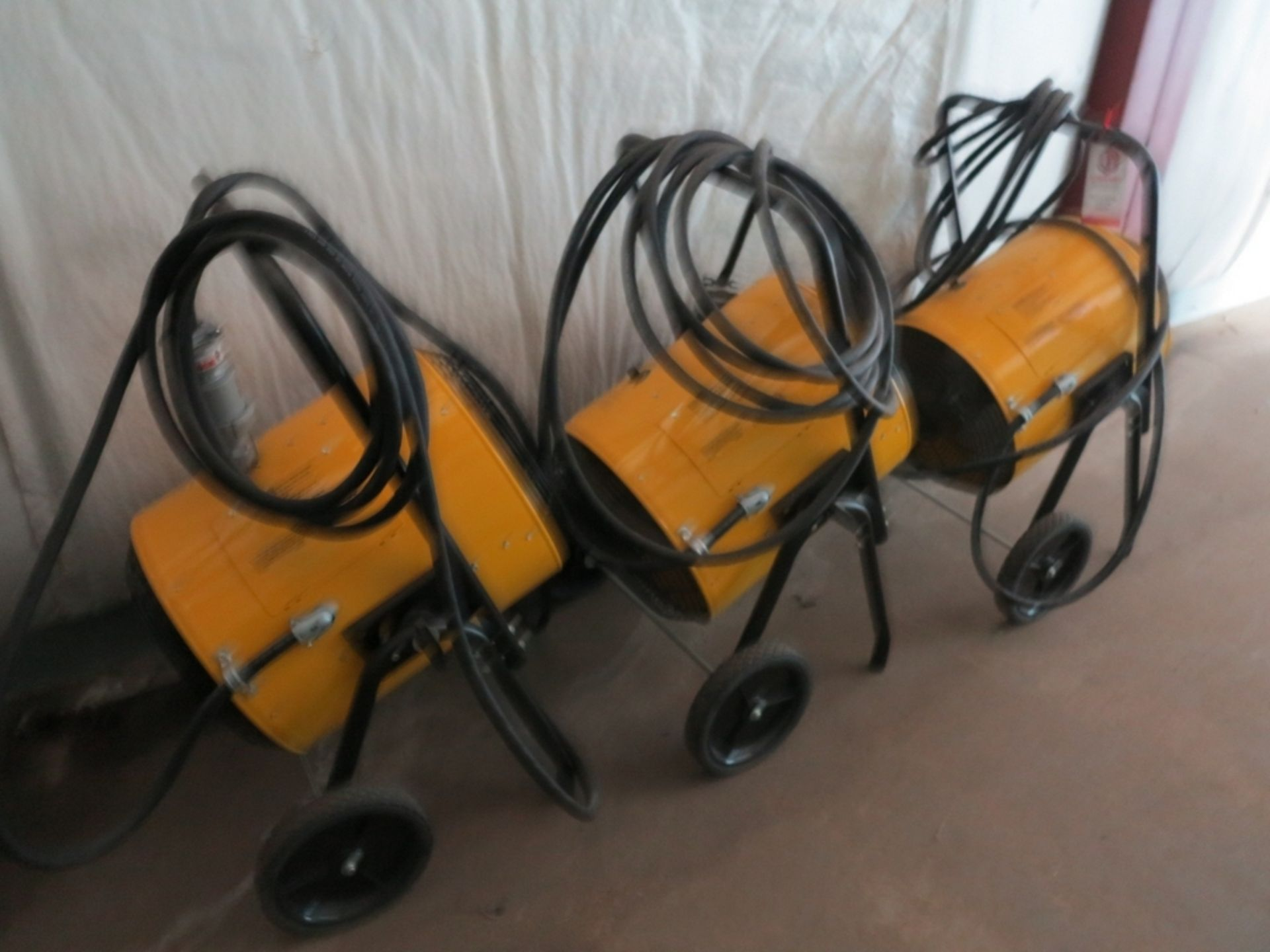 Lot 474 - LOT - (3) FOSTORIA PORTABLE HEATERS, MODEL FES-3048-3A