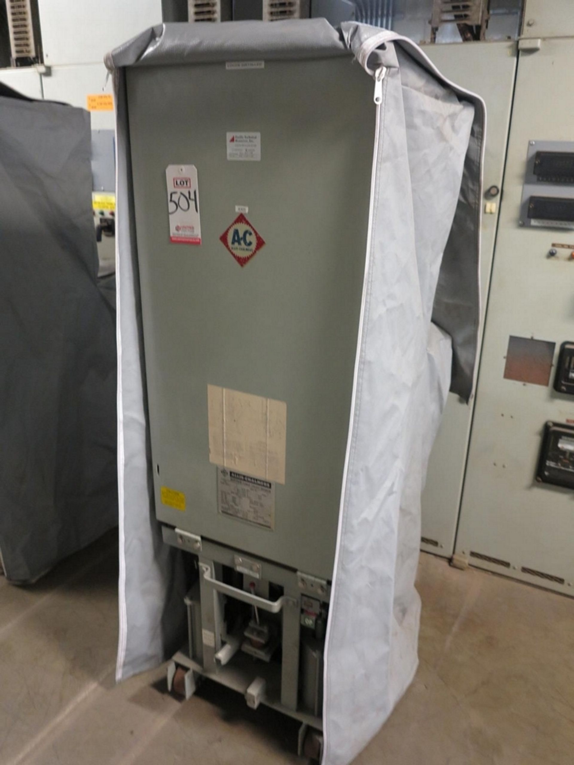 Lot 504 - ALLIS CHALMERS CIRCUIT BREAKER, TYPE MA-250A-1, 4160 V, 1200 A