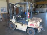 Lot 412 - HYSTER FORKLIFT, DIESEL FUEL, 6,000 LB CAPACITY (LOCATED OFFSITE: COOLWATER PLANT, 37000 SANTA FE
