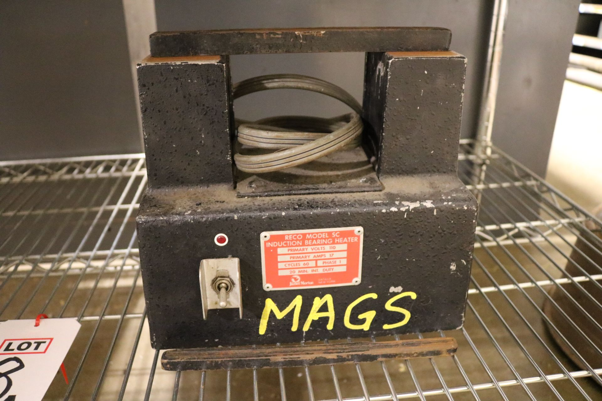 Lot 18A - LOT - (2) RECO MODEL SC INDUCTION BEARING HEATERS