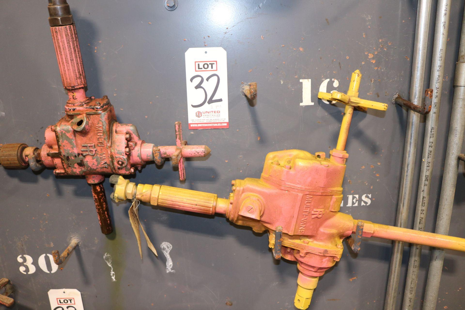 Lot 32 - LOT - (2) INGERSOLL-RAND PNEUMATIC DRILLS