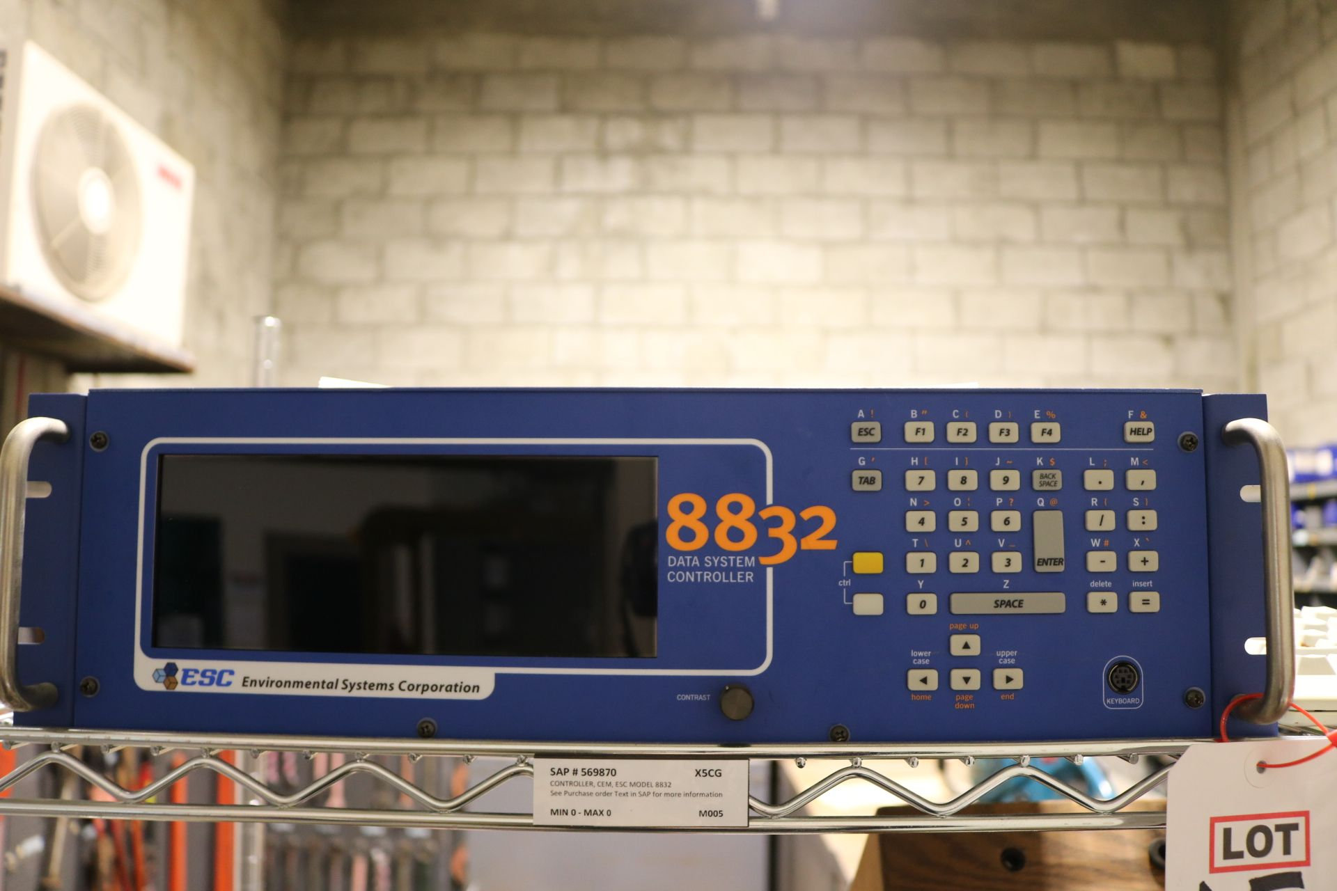 Lot 15A - ESC 8832 DATA SYSTEM CONTROLLER, FOR CEM SYSTEM