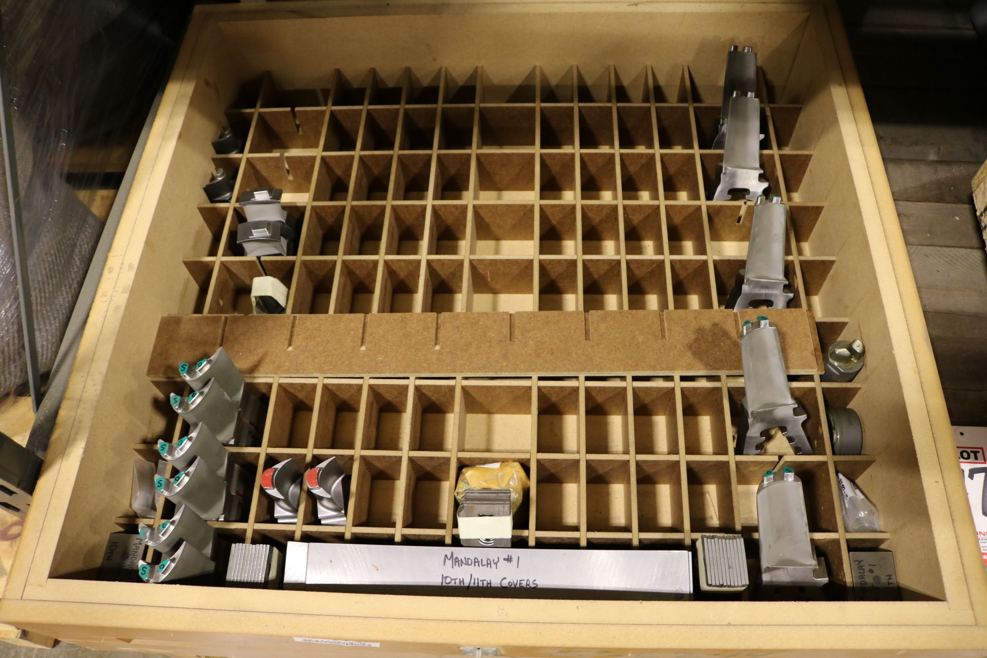 Lot 47 - LOT - (2) PALLETS CONTAINING TURBINE/GENERATOR PARTS AND CONTROL VALVE STUD TAPS