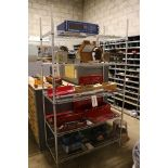 Lot 19 - LOT - (2) METRO RACKS, 4' X 2' X 8', CONTENTS NOT INCLUDED