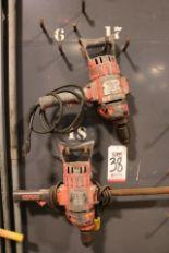 Lot 38 - LOT - (2) BLACK & DECKER HEAVY DUTY ELECTRIC DRILL MOTORS