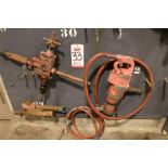 """Lot 33 - LOT - PNEUMATIC DRILL AND 1"""" DRIVE IMPACT WRENCH"""