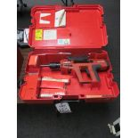 Lot 18 - HILTI #DX750 POWDER ACTUATED FASTENER TOOL