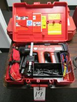 Lot 19 - HILTI #DX451 POWDER ACTUATED FASTENER TOOL