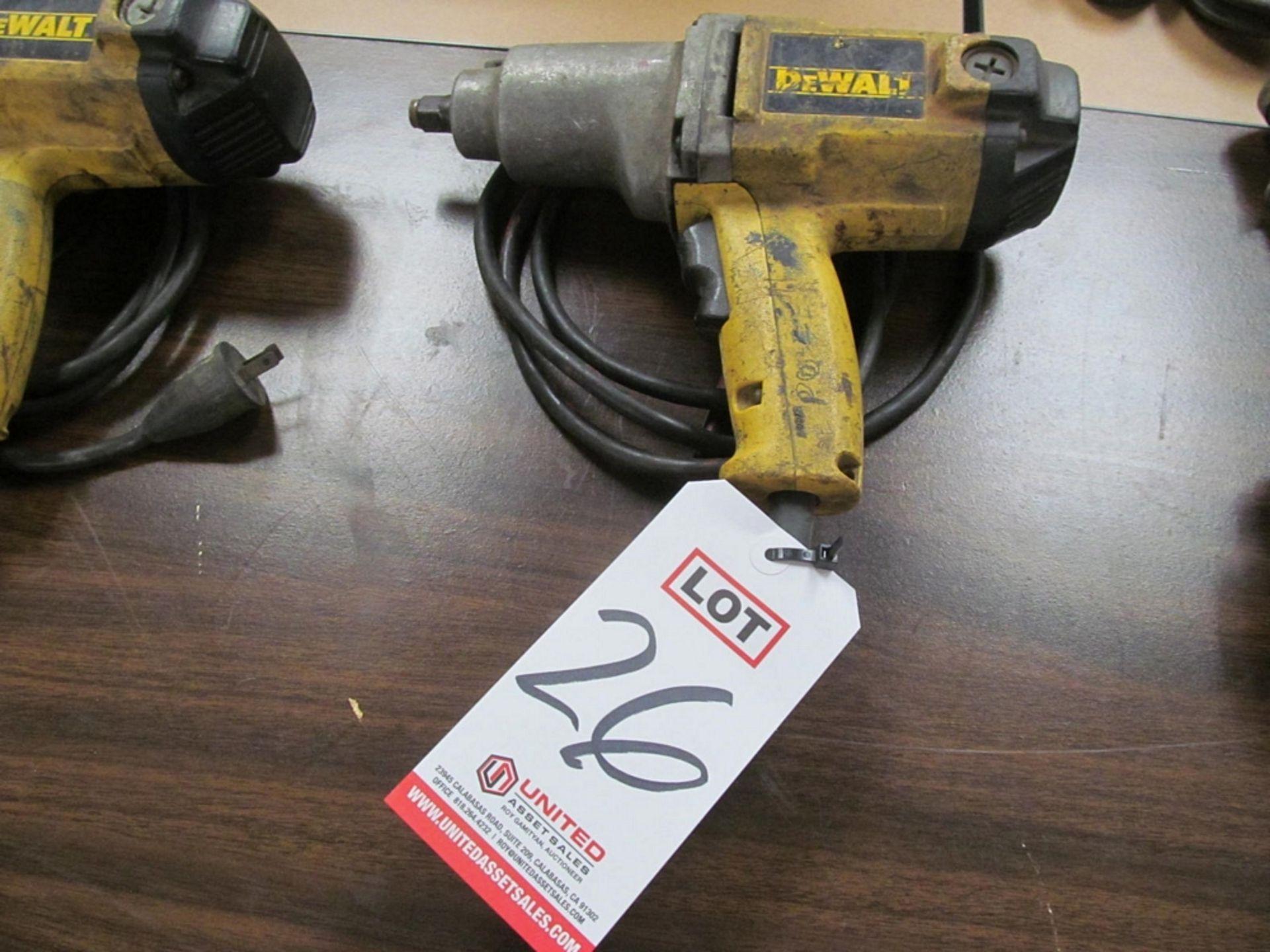 "Lot 26 - DEWALT #DW291 1/2"" ELECTRIC IMPACT"