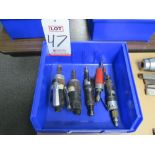 Lot 47 - LOT - (5) PNEUMATIC DIE GRINDERS