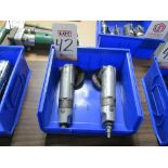 Lot 42 - LOT - (2) CP #854 PNEUMATIC ANGLE GRINDERS