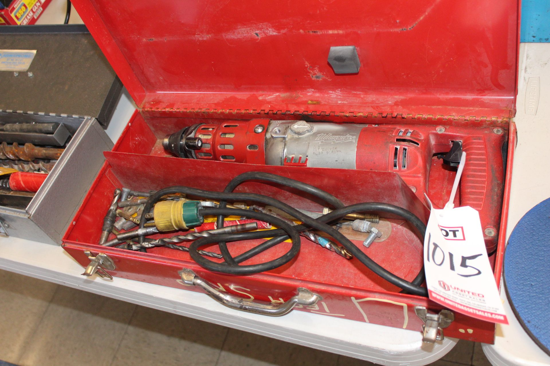 Lot 1015 - MILWAUKEE ROTARY HAMMER DRILL, (LUNCHROOM)