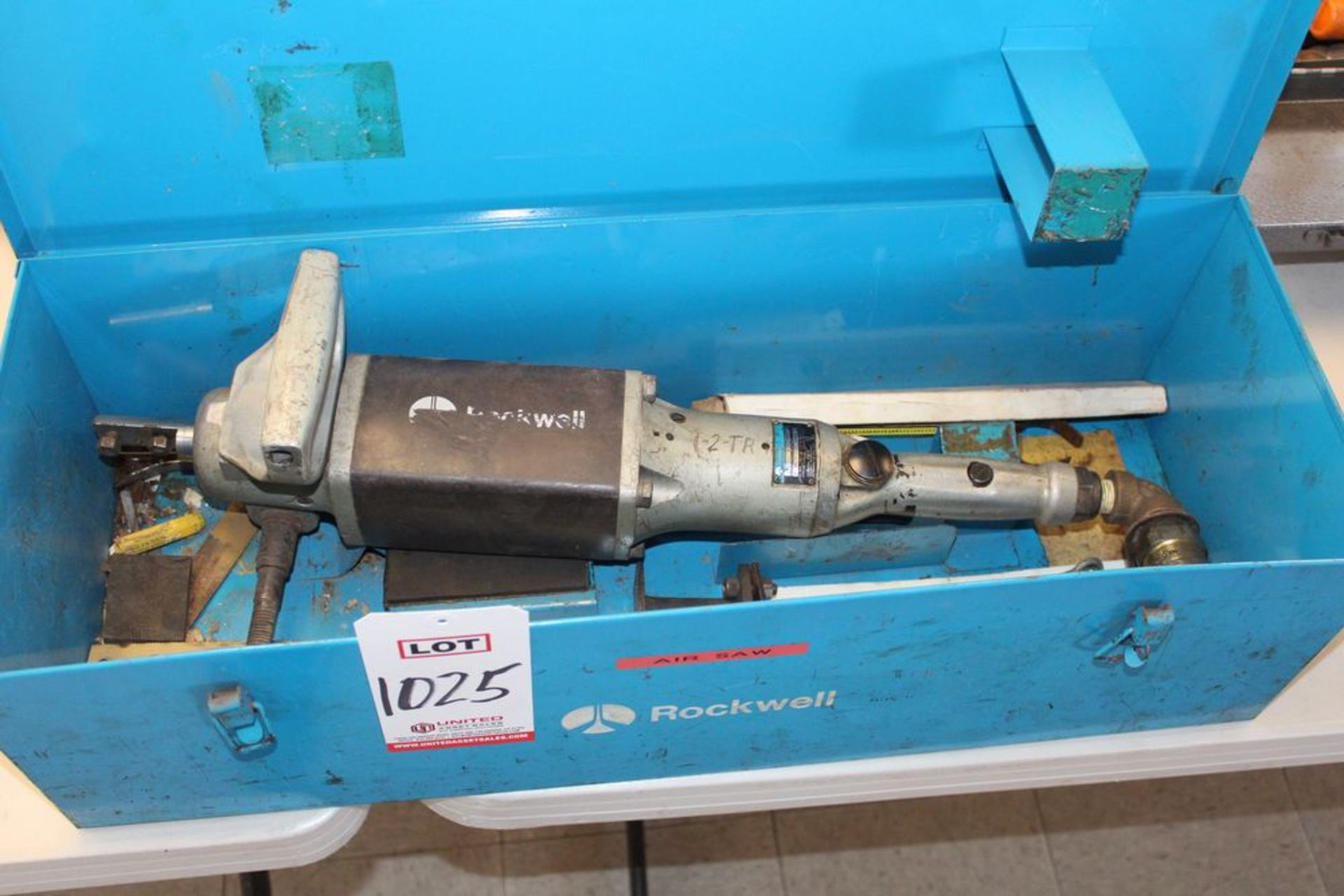 Lot 1025 - ROCKWELL AIR SAW, (LUNCHROOM)