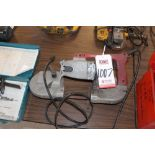 Lot 1007 - MILWAUKEE PORTABLE BAND SAW , (LUNCHROOM)