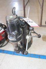 Lot 1002 - HOUGEN ROTOBROACH MAGNETIC BASE DRILL, (LUNCHROOM)