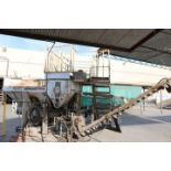 Lot 20 - 1999 CEMENTECH MODEL SCD2-50, 30 YARD SKID MOUNTED PORTABLE CEMENT PLANT, S/N 2SCD15812EH, 2 CU YD