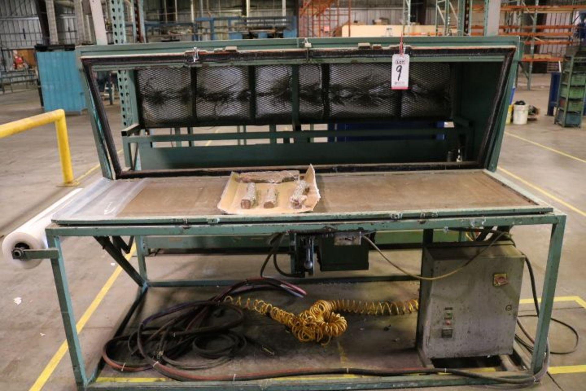 """Lot 9 - TABLE TOP HEATED VACUUM PACKAGING MACHINE, VACUUM TABLE MEASURES 24"""" X 76"""""""