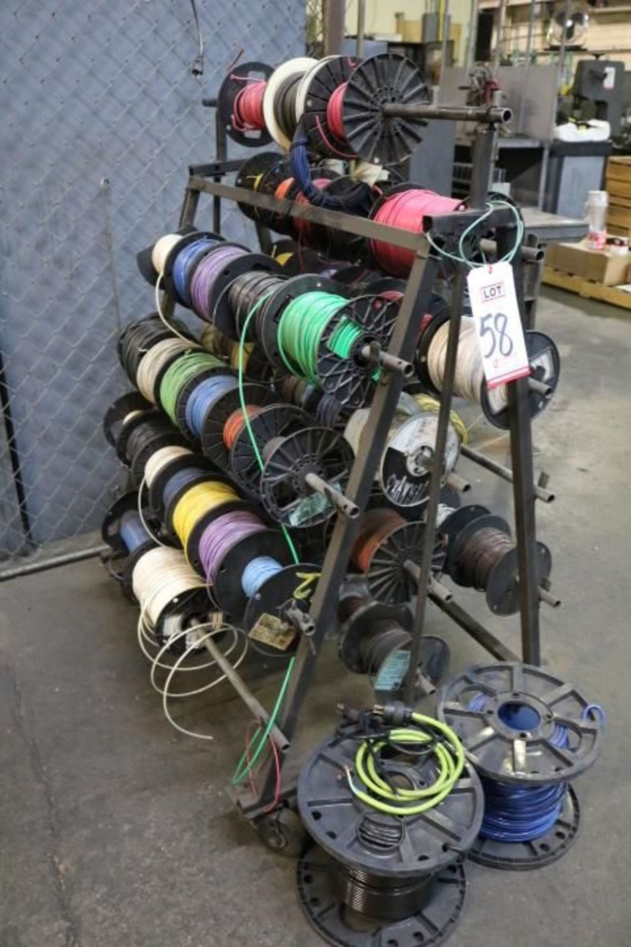 Lot 58 - LOT - ASSORTED ELECTRICAL WIRE