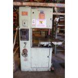 Lot 4 - POWERMATIC VERTICAL BAND SAW, MODEL 87, S/N 67-7900