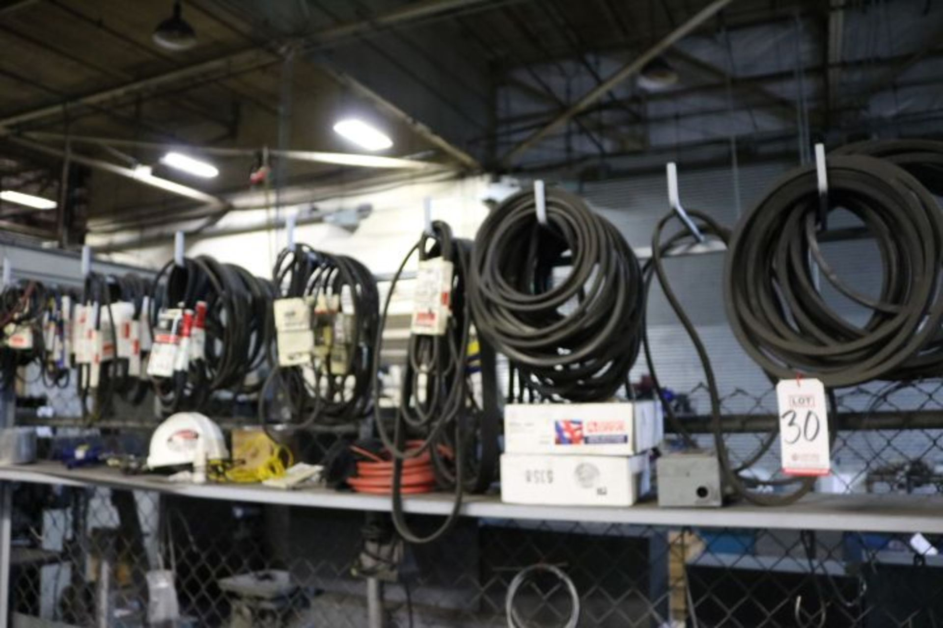 Lot 30 - LOT - ASSORTED FAN BELTS AND HOSES