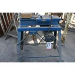 "Lot 21 - CRAFTSMAN JOINTER, MADE BY KING SEELEY CORP, TABLE MEASURES 8"" X 24"", KNIFE IS 4-3/8"""
