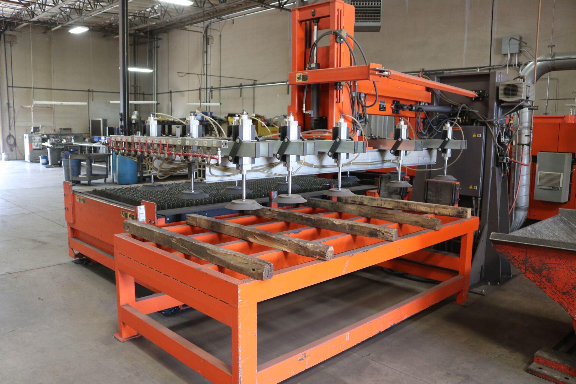 Lot 1 - 2001 BYSTRONICS BYSTAR 3015-2 CNC LASER CUTTER; 4,000 WATT, BYSTRONIC BTL 4000 TURBO C02 LASER,