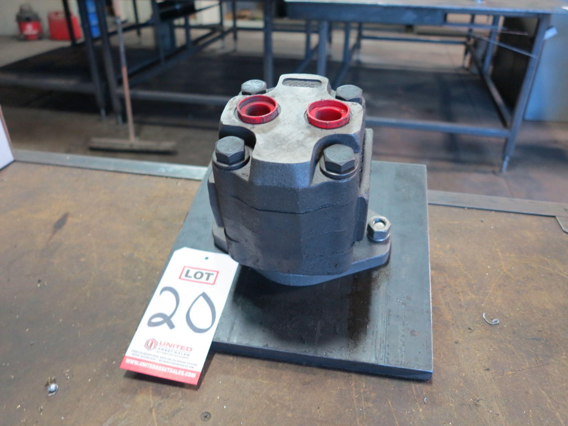 Lot 20 - PERMCO HYDRAULIC PUMP, MODEL MA-0574-3