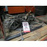 Lot 72 - LOT - MTH PUMPS MODEL T31B-AB, TURBINE PUMP, W/ PALLET OF HOSE AND ELECTRIC CORD