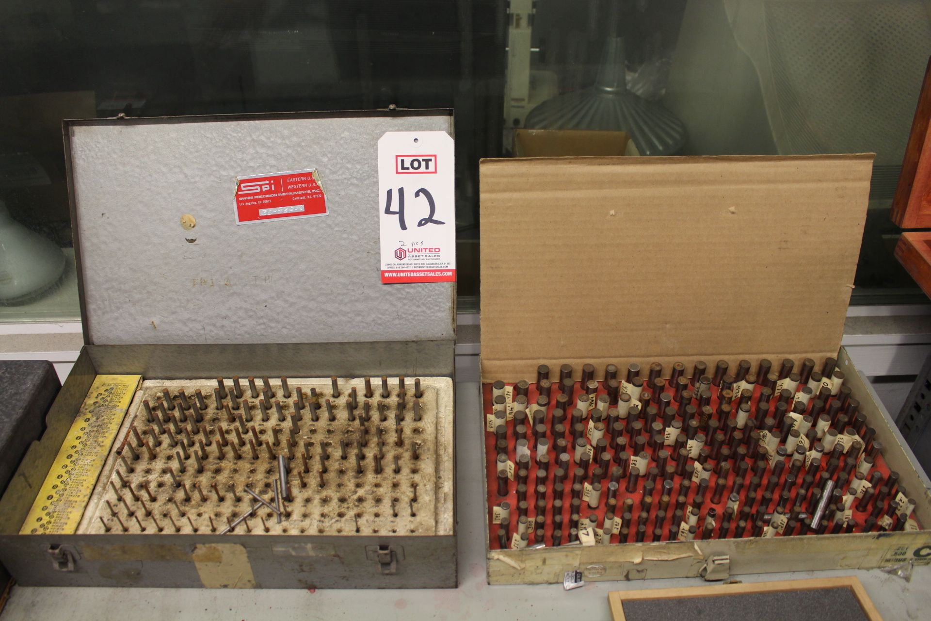 Lot 42 - LOT - (2) PIN GAGE SETS (INCOMPLETE)