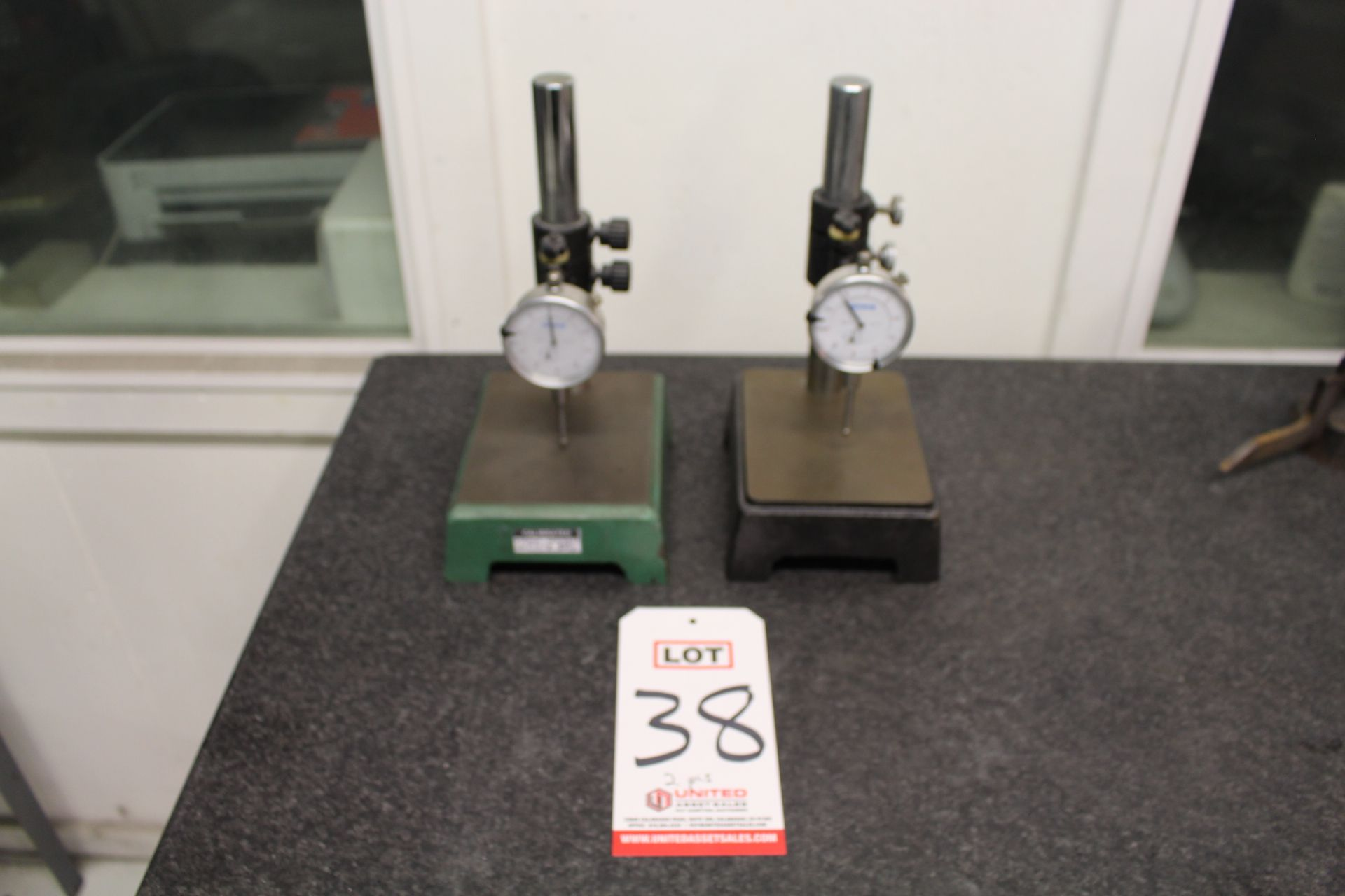 Lot 38 - LOT - (2) DIAL DEPTH GAUGES