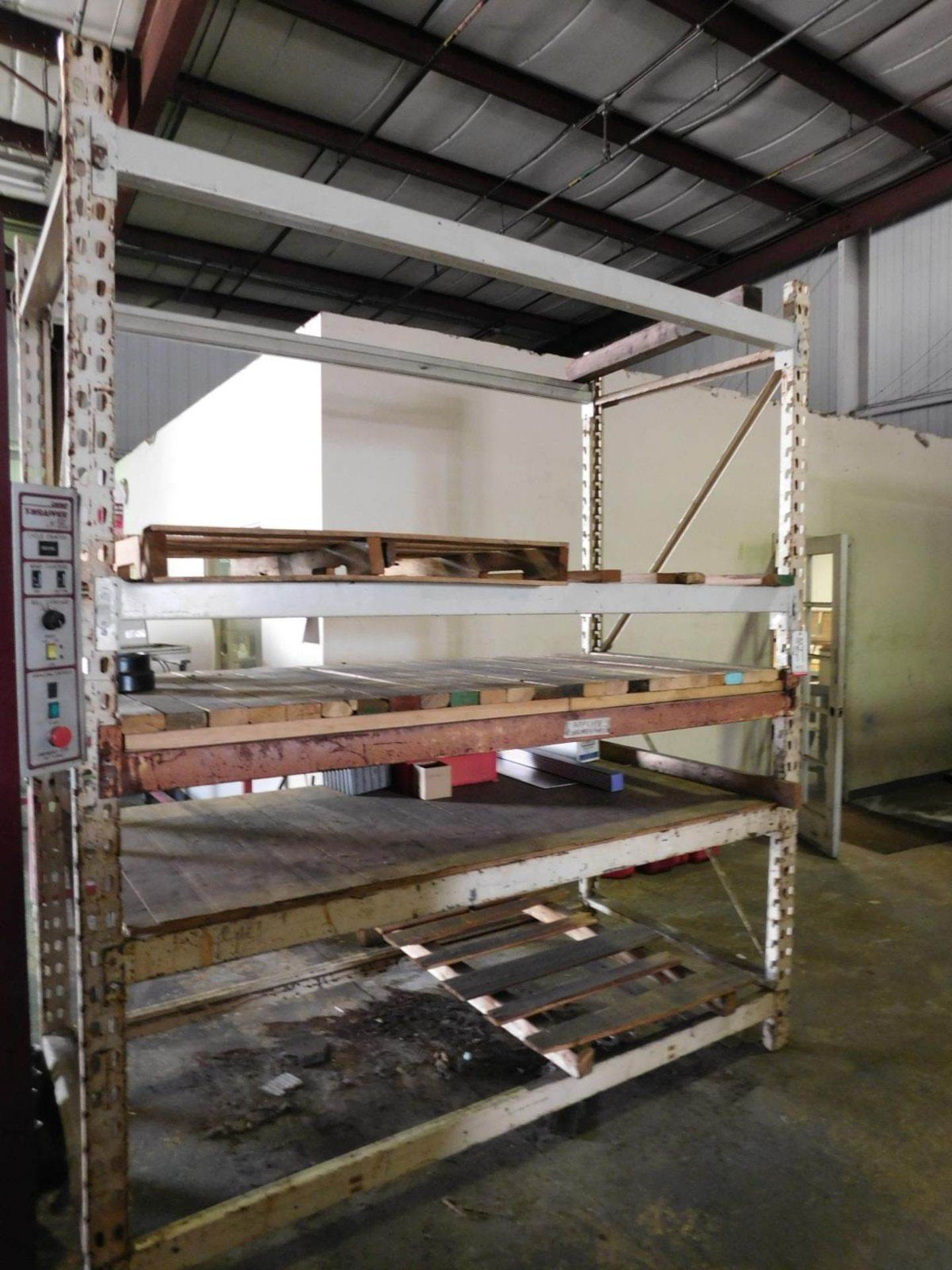Lot 49 - PALLET RACK, 7' BEAMS, 9' UPRIGHTS