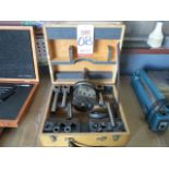 """NAREX VHU 2-1/8"""" UNIVERSAL BORING HEAD & FACING HEAD ADJUSTABLE WITH CASE AND ACCESSORIES"""