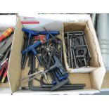 LOT - ALLEN WRENCHES