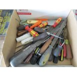 LOT - FILES AND SCREWDRIVERS