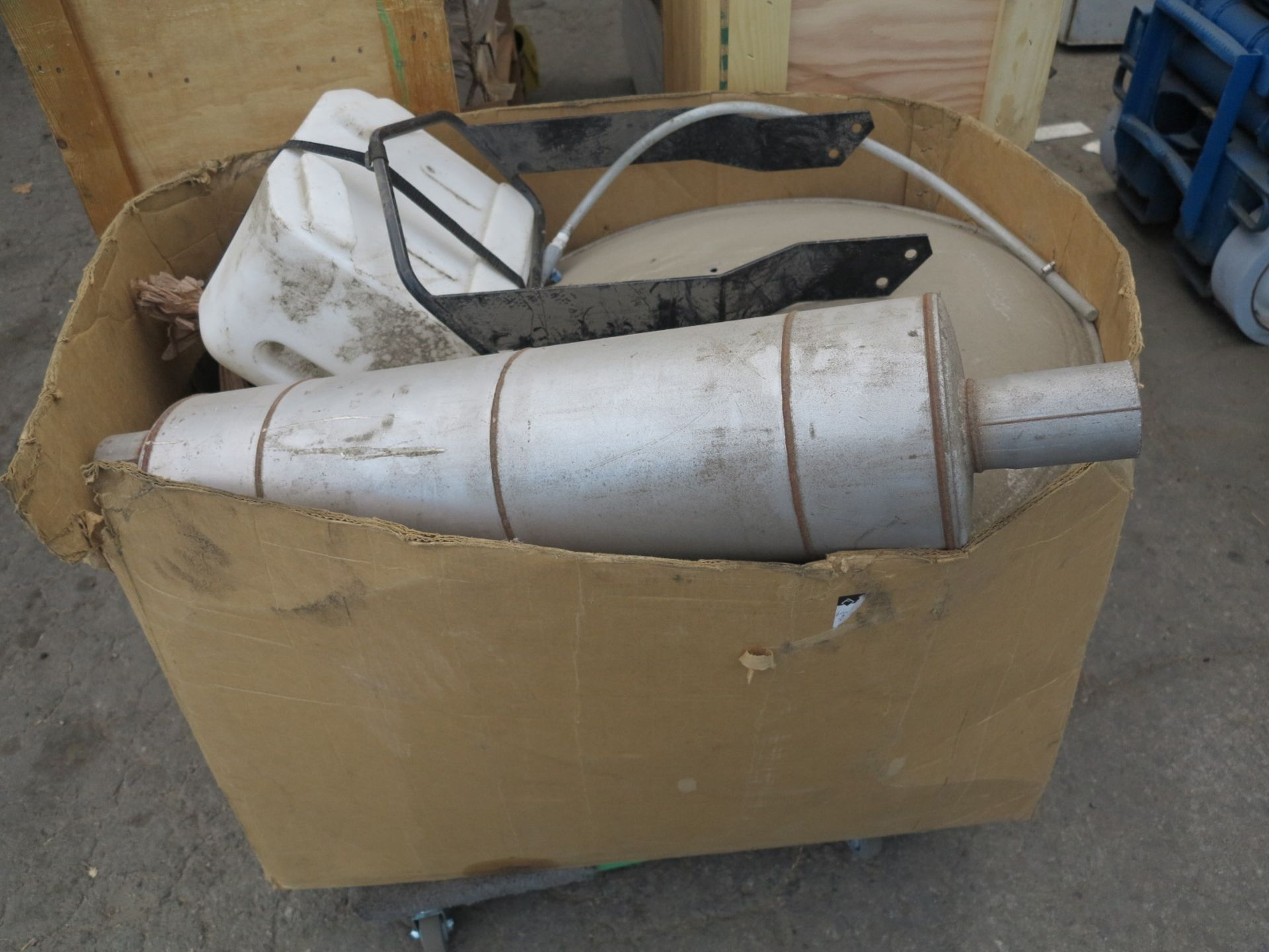 Lot 13 - LOT - (4) CARTS TO CONTAIN: SUMP PUMPS, AUTOMOTIVE, CHEM LOCK, BOX OF MISC ITEMS