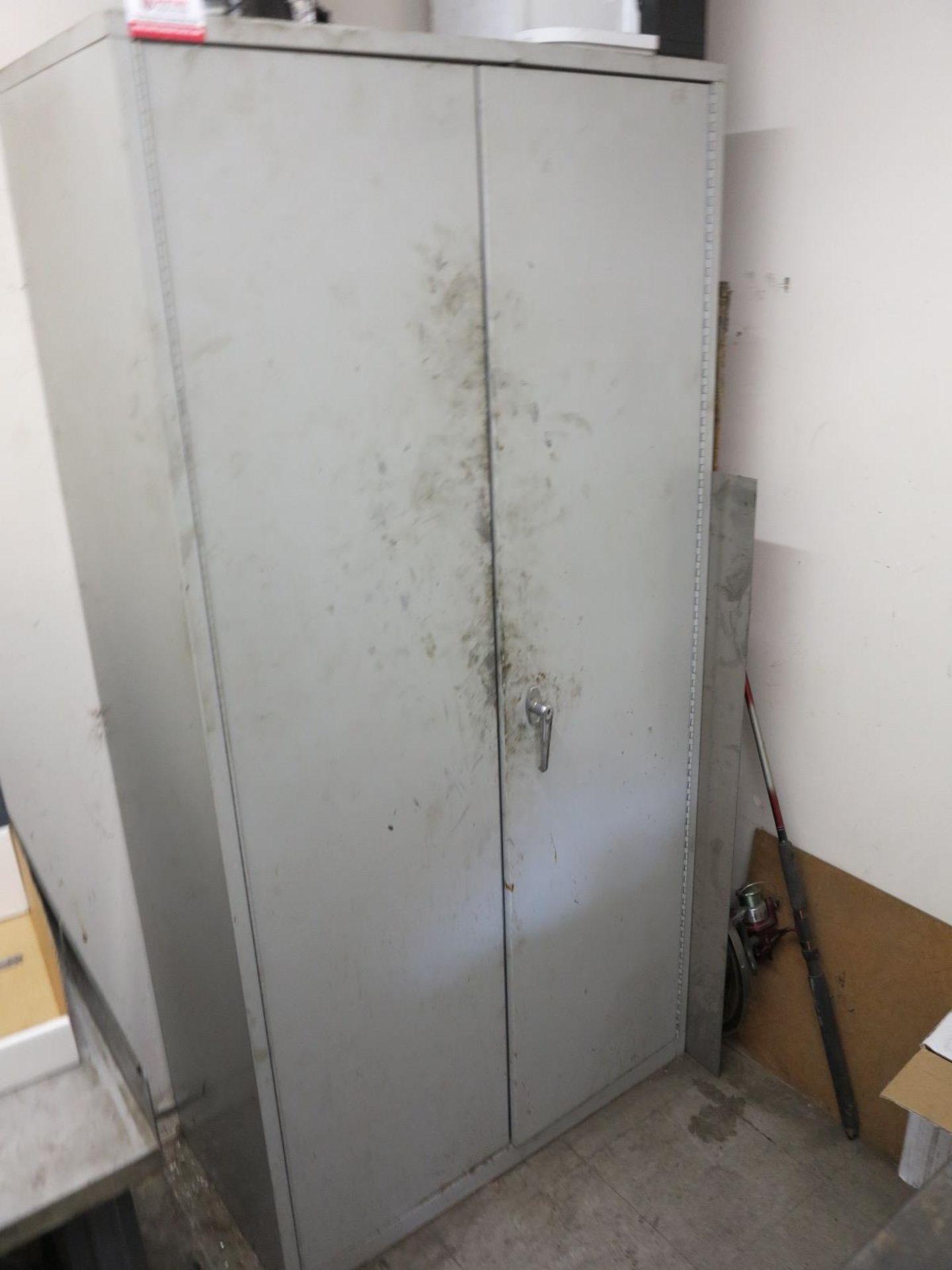 Lot 10 - 2-DOOR STORAGE CABINET, EMPTY
