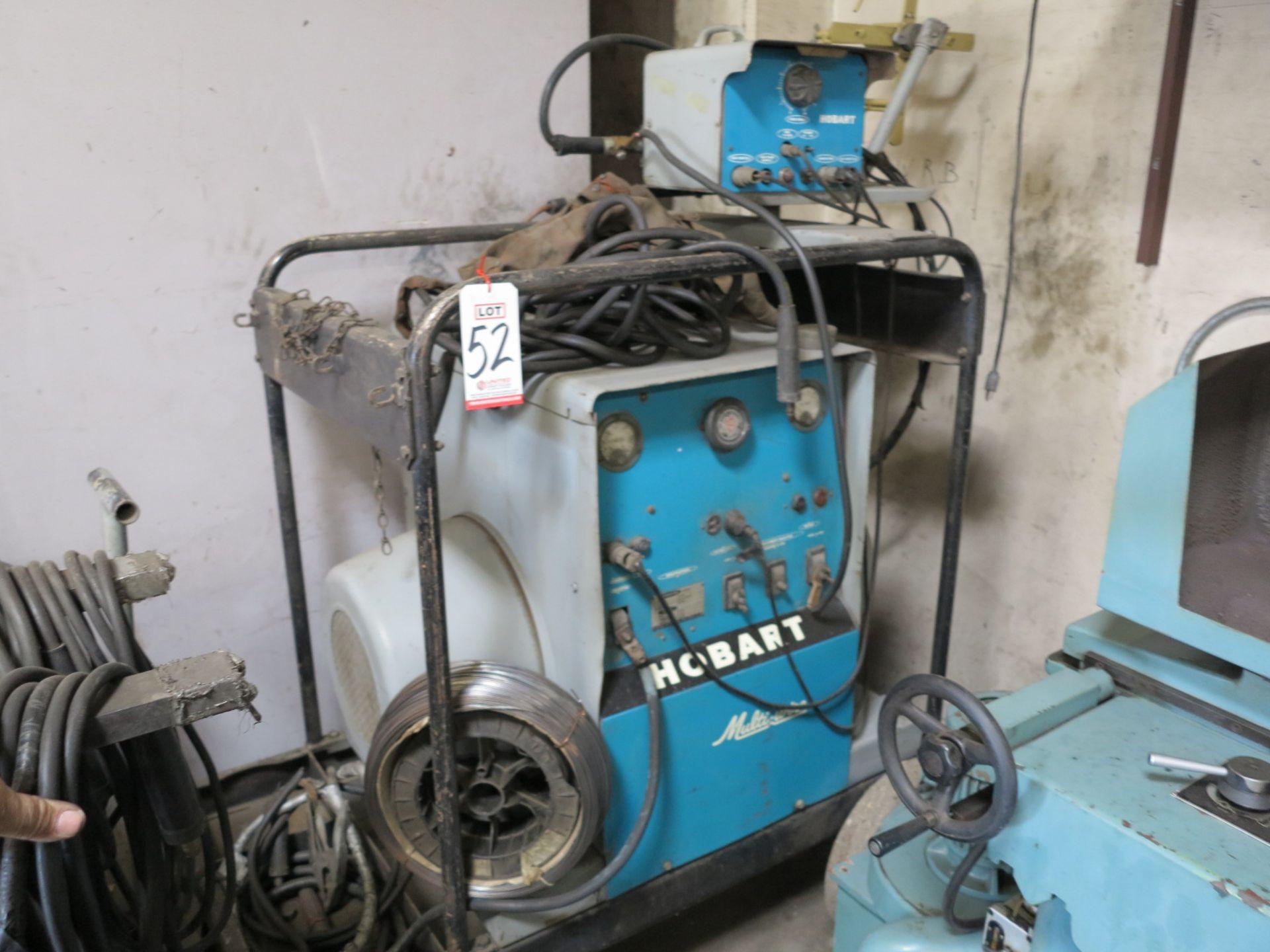 Lot 52 - HOBART MULTI-WIRE WELDER, MODEL MC-500, 30 HP, 500 AMP, 3-PHASE, 220/440V, S/N 16DW-9672