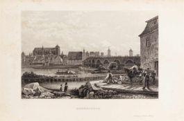 Das malerische und romantische Deutschland. Bde. I - III, V, VII - IX und 1 Supplementband in 10