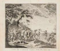 Cook, James. - [Rickman, John]: Troisième voyage de Cook, ou journal d'une expédition faite dans