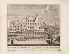 Schenk, Pieter: Urbis Rotteraedami delineatio. [Amsterdam: P. Schenk 1702]. - Album mit gest.