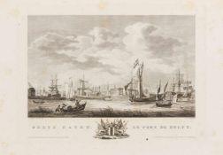 Aa, Cornelius van der: [Atlas van de zeehavens der Bataafsche Republiek & die van Batavia en