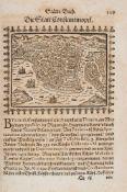 Saur, Abraham: Stätte-Buch: oder außführliche und auß vielen bewehrten alten und neuen Scribenten