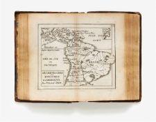 Duval, Pierre. - 4 kartographische Werke in 1 Bd. Paris: P. Duval um 1667-72. 13,5 x 8,3 cm. Mit
