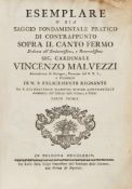 Martini, Giovanni Battista: Esemplare o sia Saggio fondamentale pratico di contrappunto sopra il