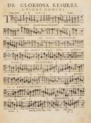 Praetorius, Hieronymus: (Opus musicum) - [1.] Cantiones sacrae de festis praecipuis totius anni V.