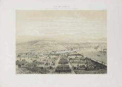 Krimkrieg. - Atlas historique et topographique de la guerre d'Orient en 1854, 1855 et 1856.