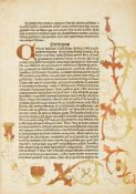 Ulmer, Ulricus: Fraternitas cleri. [Ulm: Johann Zainer der Ältere, c. 1478–82].28 x 19,5 cm. 87 Bll.