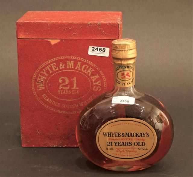 Lot 2468 - Whyte Mackay's Blended Scotch Whisky, 21 years