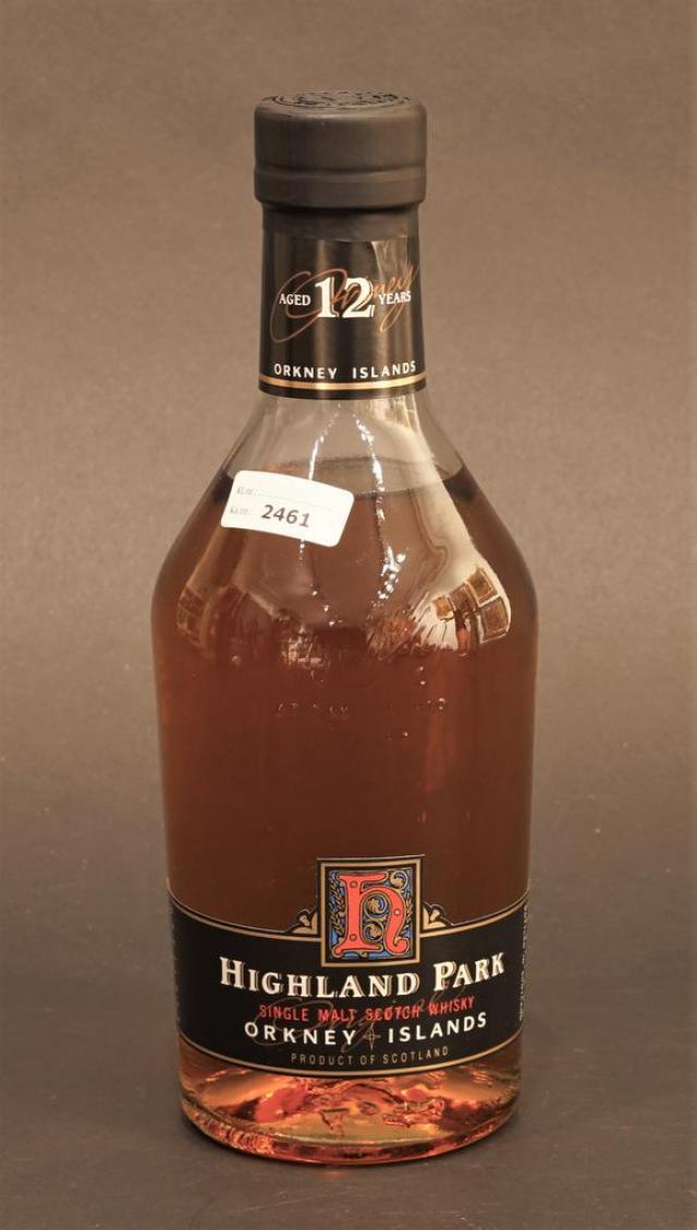 Lot 2461 - Highland Park Single Malt Scotch Whisky, 12 years