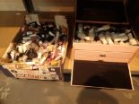 Lot 28 - Shelf of new old stock makeup and nail polishes